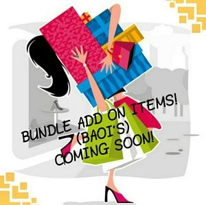 Accessories - SPECIAL BUNDLE ADD ON ITEM HAVE ARRIVED!!!