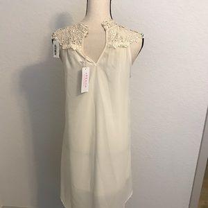 Dresses & Skirts - BEAUTIFUL WHITE/OFF WHITE DRESS BRAND NWT!