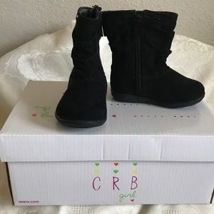 C R B girl Felicia boots for Baby Girl