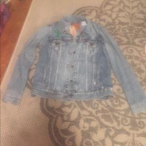 Jackets & Blazers - BRAND NEW Levi's jean jacket
