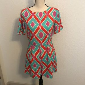 Other - BRAND NEW WITH TAGS MULTI COLOR ROMPER! NWT