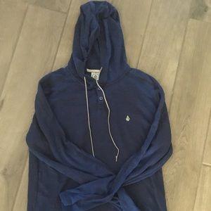Volcom Meduim hooded sweatshirt