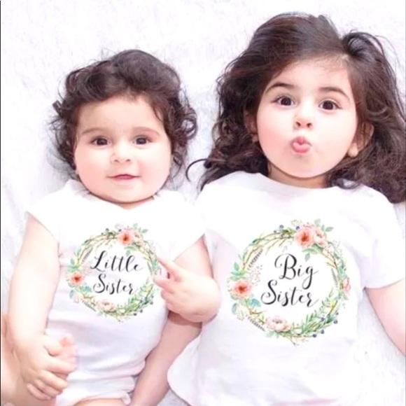 Other - 🎀HOST PICK!🎀 Little Sister & Big Sister Tees