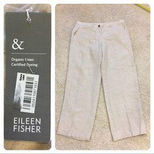 NWT! Eileen Fisher linen pants
