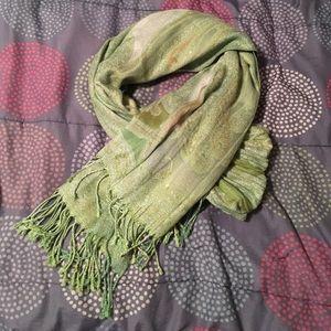 Green Paisley Scarf