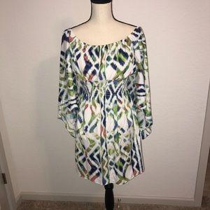 Dresses & Skirts - BRAND NEW BOUTIQUE MULTI COLOR DRESS! SUPER CUTE!