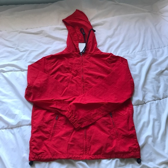 Brandy Melville Jackets Blazers Red Jacket With Navy Chords
