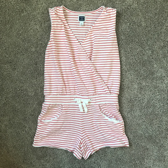 30be0974de84 Janie and Jack Other - Janie   Jack Girls 6 red white striped jumper