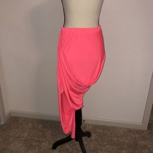 Dresses & Skirts - BRIGHT PINK SKIRT WITH TAGS! SIZE MEDIUM!