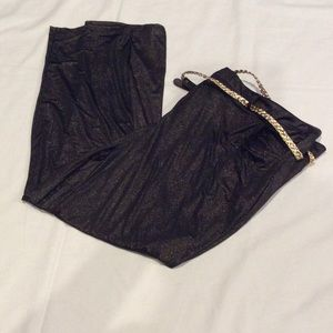 Pants - Black and Gold slacks
