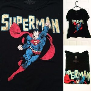 EUC Superman Graphic Tee