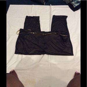 Pants - Black & Gold slacks