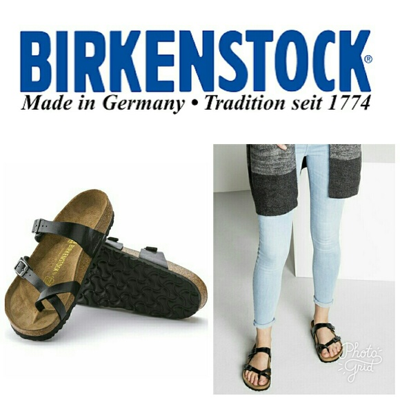 1e8791ffddb Birkenstock Shoes - 🆕 Birkenstock Mayari Birko-Flor Graceful Licorice