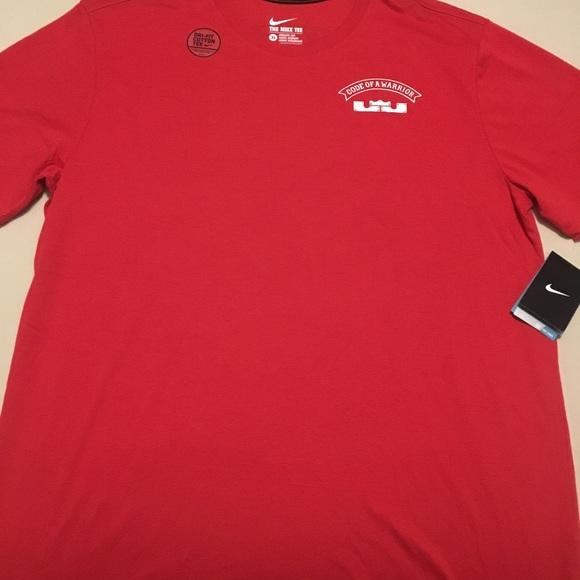 Nike Dri-Fit Code of Warrior LeBron T-Shirt e2389dc5c