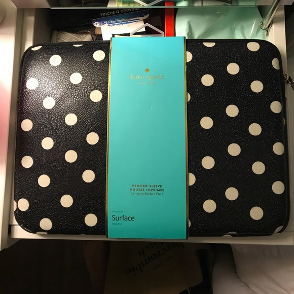 quality design f1226 85c6b kate spade surface pro laptop/ipad case