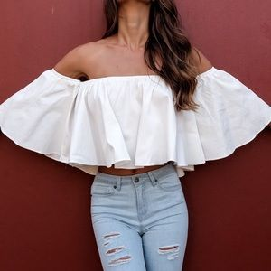 Tops - Off shoulder top