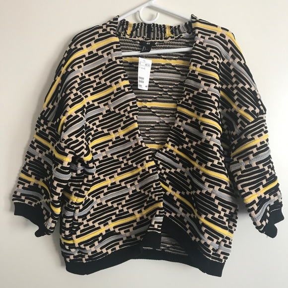 H&M - NWT H&M Chunky Oversized Knit sweater cardigan from ...