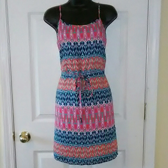 5a9617b099f Stitchfix Pixley Small drawstring waist dress