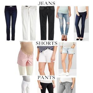 Bottoms! Jeans, Shorts, Pants and Leggings