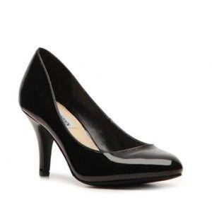 Steve Madden Classic Black Patent Heels Pumps Shoe