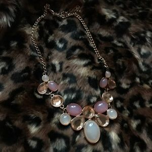 Jewelry - Beautiful blush statement necklace