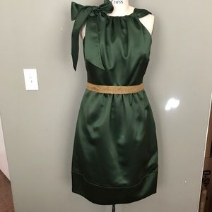 Vera Wang Green Sleeveless Dress