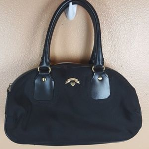 Victorias Secret Black Handbag or Make Up Bag