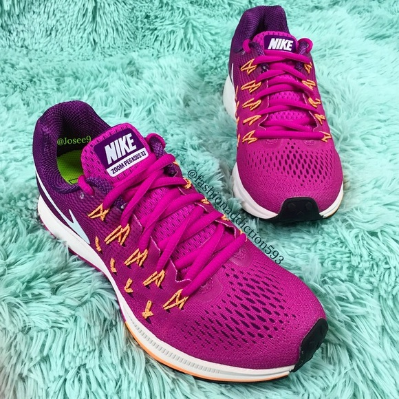 new products 275f0 a3f29 Nike air zoom Pegasus 33 women s purple sneakers