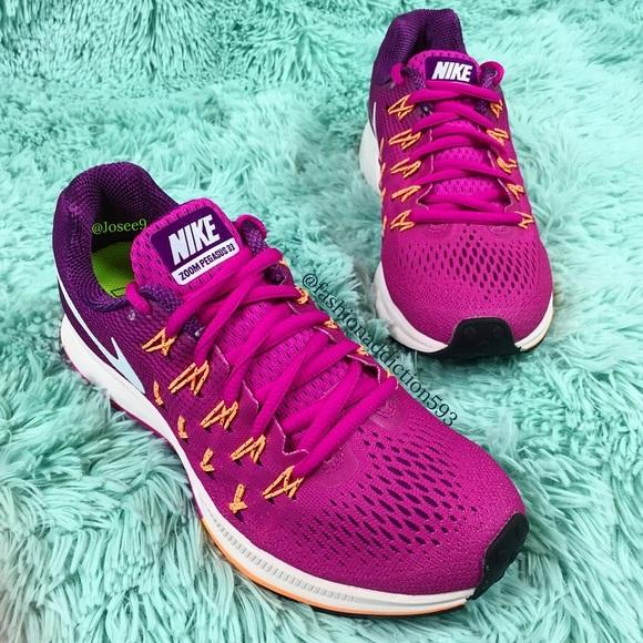 71128278cdf6 Nike air zoom Pegasus 33 women s purple sneakers