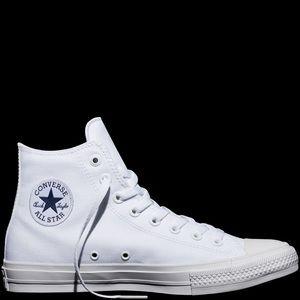 White Converse Chuck Taylor All Star 2 Converse
