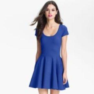 Felicity & Coco Women's Blue Fit & Flare Dress