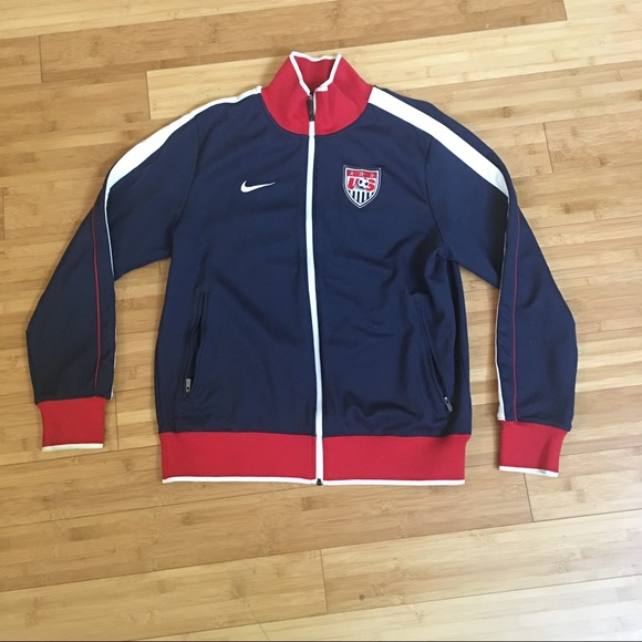 3768cf99babe Nike Team USA Soccer Team Track Jacket