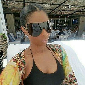 Celebrity Style Rimless Sunglasses!