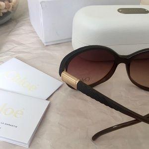d09d0452a2c0 Chloe Accessories - CHLOE Melisse Sunglasses   Case