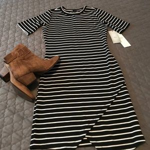 Dresses & Skirts - Striped Bodycon Midi