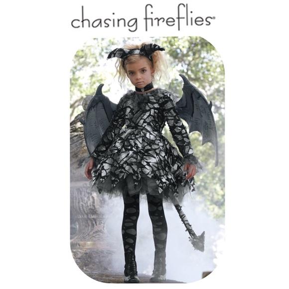 euc chasing fireflies gargoyle costume in girls 10