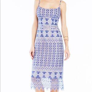 Gorgeous blue midi dress