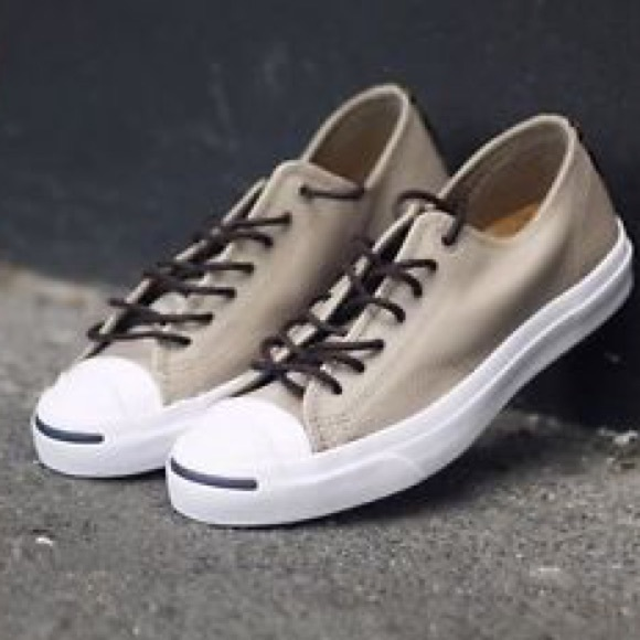 b13c13fd97cc 🆕Converse Jack Purcell JP OX in Tumbled Leather