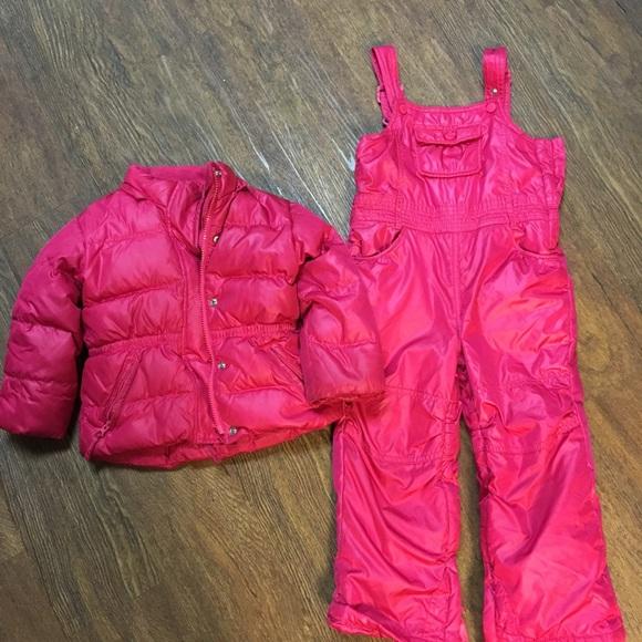 36c02a3e4 GAP Jackets & Coats | Kids 4t Snow Suit Jacket Snow Suit 2 For 1 ...