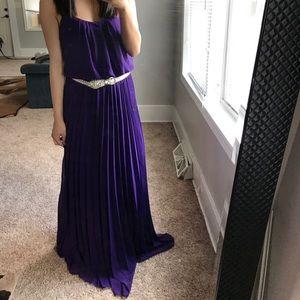 Royal purple maxi