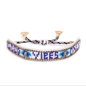 Good Vibes Only Bracelet REBECCA MINKOFF