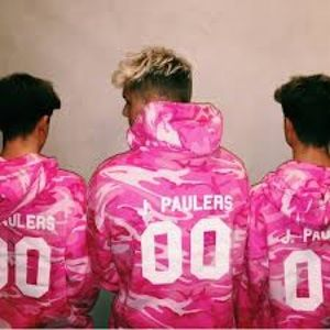 b7c3249a6fad jake paul Tops - LIMITED EDITION JAKE PAUL PINK CAMO HOODIE
