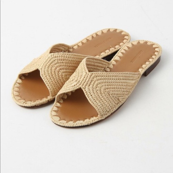 712878456b99 Carrie Forbes Salon Slide Sandals in Natural