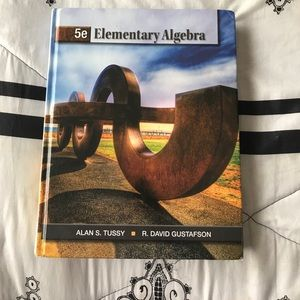 Other - Hardcover- Elementary Algebra 5th Edition