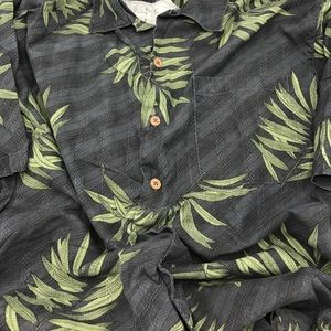 Tommy Bahama Silk Short Sleeve Men's Size Large