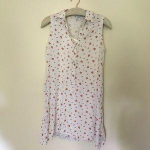 Splendid Dresses - Splendid white floral primrose swing dress