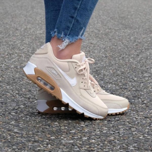 Nike WMNS Air Max 90 Premium 'Oatmeal' Damen Sneaker 100