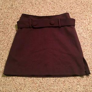 Vintage 90's Kenar sz 4 brown business skirt
