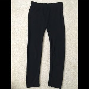 Black leggings. Perfect condition