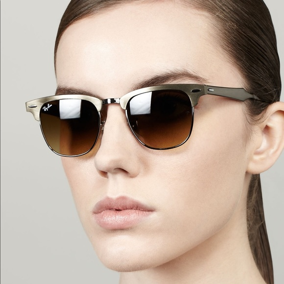 ray ban clubmaster aluminum bronze sunglasses   Money in the